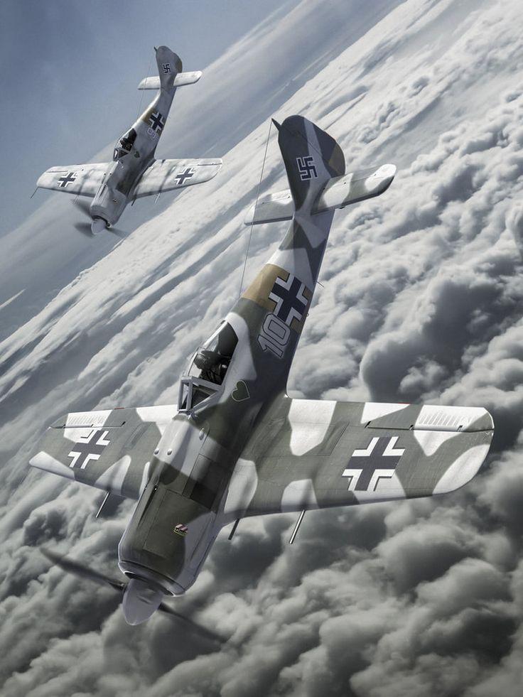 World War II German Flight Diving