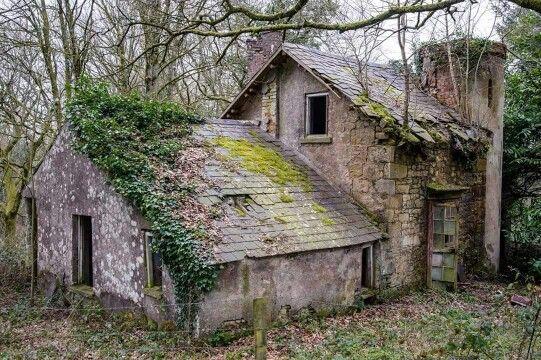 Abandoned Fairy Tale Stone Cottage Style...