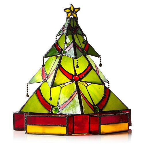 8 best ideas about tiffany stained glass lamp on pinterest for Christmas tree light lamps