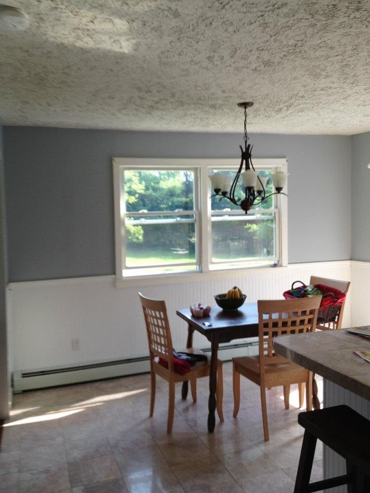 Tara/Mike's Kitchen: Olympic Paints - GRAY FROST D57-3
