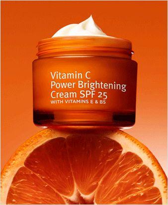 Grassroots Research Labs - Vitamin C Power Brightening Cream SPF 25 http://www.myclearorganics.com/home/24-skin-care-nighttime-moisturizer.html                                                                                                                                                                                 More