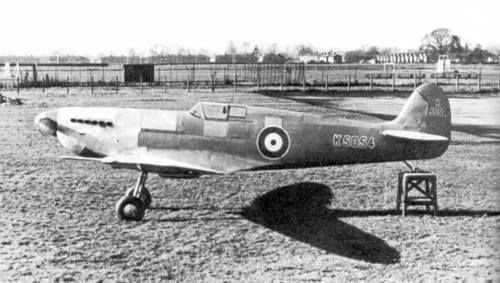 Prototype Spit Eastleigh 1937