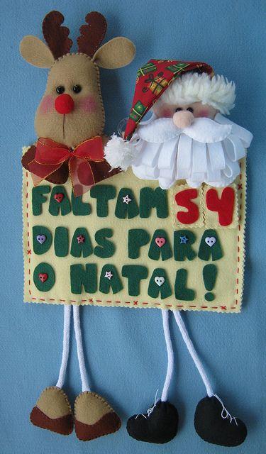 Calendário do Natal! by Arte & Mimos, via Flickr