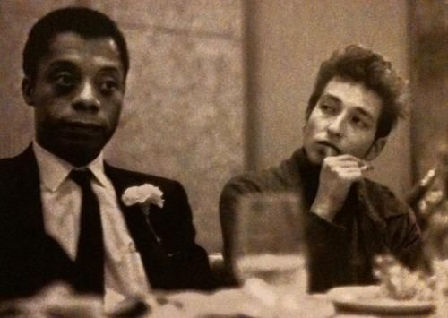 James Baldwin and Bob Dylan (December 13 , 1963)   NSF