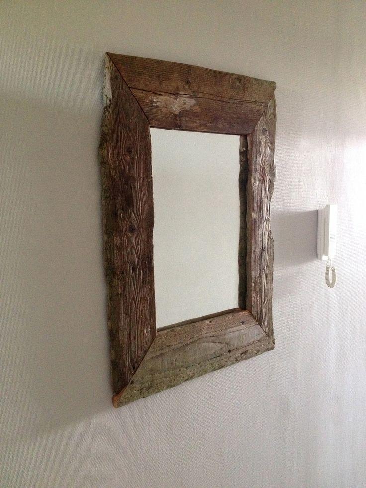 Driftwood mirror sloophout spiegel robuuste spiegels for Facebook spiegel