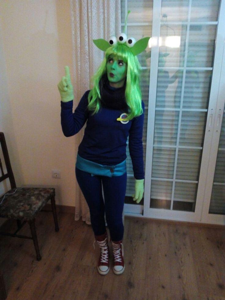 Marcianito toy story diy alien marciano marciana disfraz - Disfraz halloween casero ...