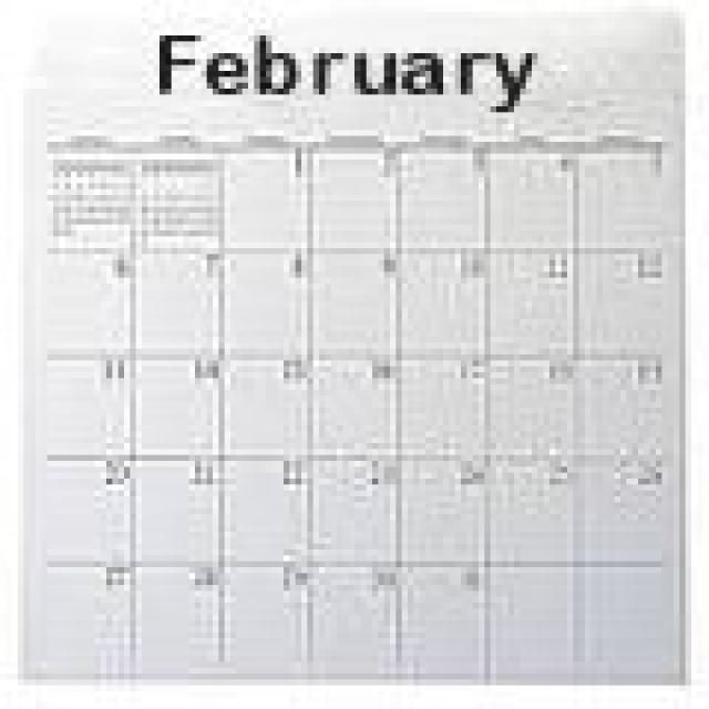 Celebrate Special Days With These Calendars: February 2013 Special Days
