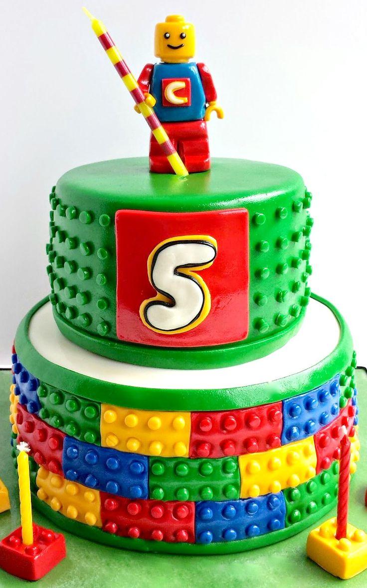 Cake Designs Lego : 25+ best ideas about Lego cake tutorial on Pinterest ...