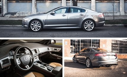 2013 #Jaguar #XF 2.0T - The engine-downsizing program will continue until morale improves.
