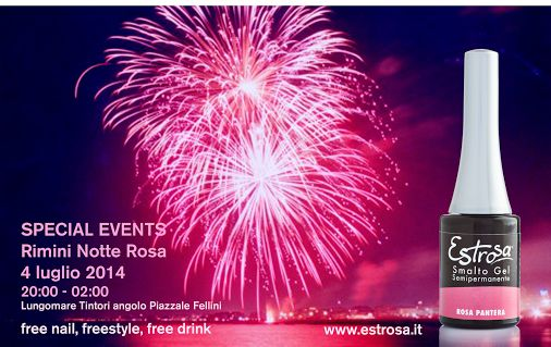 Ci siamo quasi!!! Vi aspettiamo questa sera! #Notte #Rosa #Rimini #Estrosa…