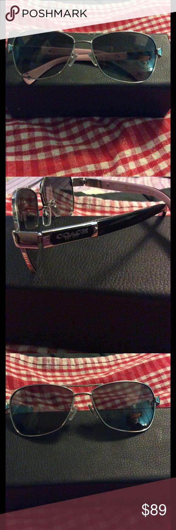Coach sunglasses Coach sunglasses Caroline silver/black coach Accessories Glasses