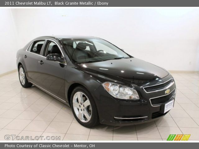 2011 black malibu | 2011 Chevrolet Malibu LT in Black Granite Metallic. Click to see large ...
