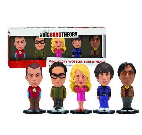 Mini Wacky Wobbler Set: Big Bang Theory | Funko
