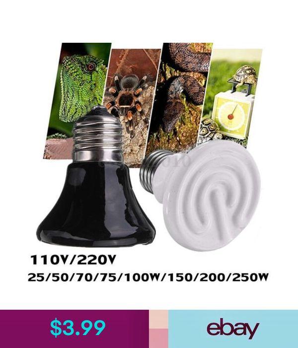 Terrarium Heat Lamps Pet Supplies Infrared Heater Reptile Terrarium Reptiles
