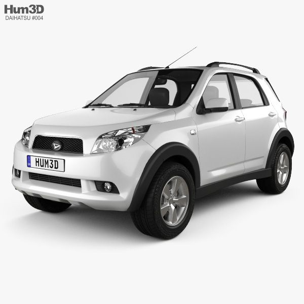3d Model Of Daihatsu Terios 2009 Based On A Real Object Created