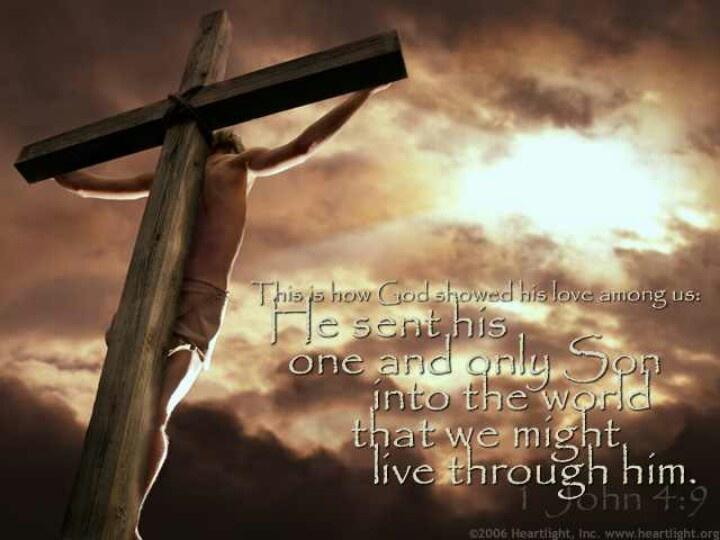 Image result for 1 John 4:9