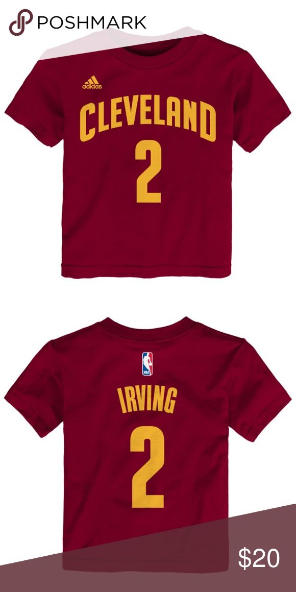 Cleveland Cavaliers Kyrie Irving T-Shirt NWT!!!! Brand new with tags!! Perfect condition. Cleveland Cavaliers Kyrie Irving t-shirt. Adidas Shirts & Tops Tees - Short Sleeve