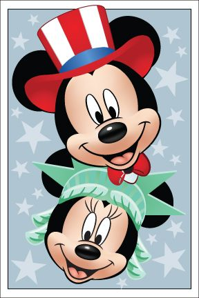 Happy 4th of July!: Mickey Minnie, Favorite Holidays, Mickey Mouse, Patriots Style, Disney Patriots, Disney Mickey, Patriotr Mickey, July Mm, Things Disney