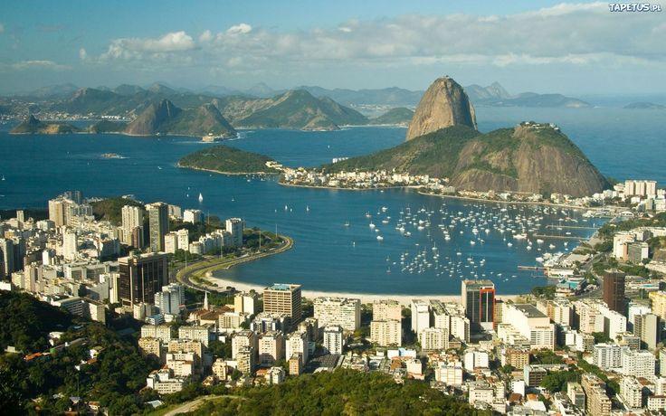 Rio de Janeiro, Brazil   Tapeta Rio de Janeiro, Brazylia, Miasto