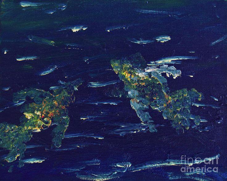 Mulig Mandarinfisk/possibly Mandarinfish by Suzanne Thobro