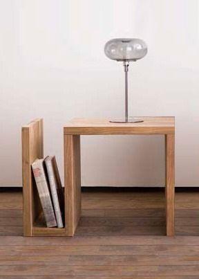 mesa de luz revistero