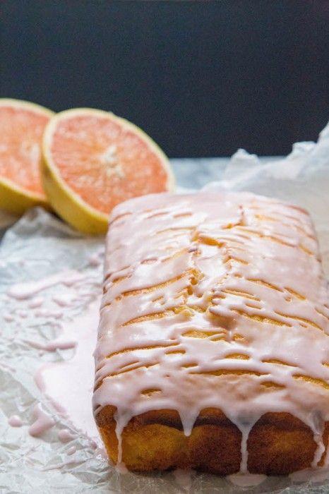 Grapefruit Yogurt Cake | TheCornerKitchenBlog.com #cake #grapefruit #baking