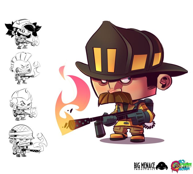 Flamethrower - No Zombies Allowed! by frogbillgo.deviantart.com on @deviantART