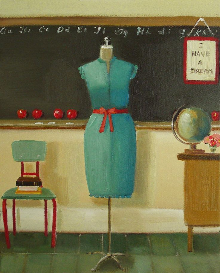 My Favourite Teacher Dress-sl-b