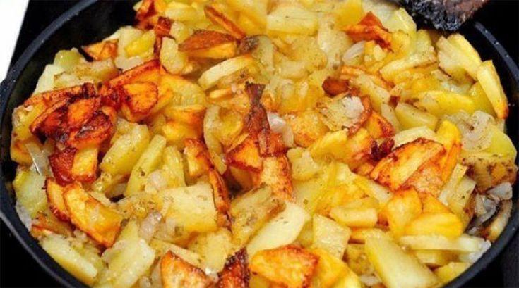 Наверное нет таких людей, которые не любят жареный картофель, причём даже те, кто считает это блюдо вредным. Иногда можно и побаловать себя вкусной румяной картошечкой? Придерживаясь простых...