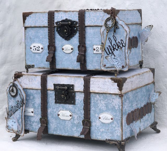 Mitt Lille Papirverksted: The Vintage Travel Boxes