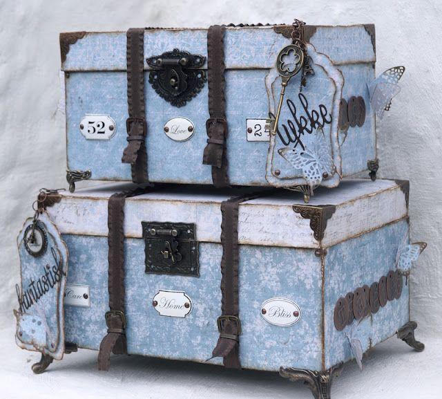Mitt Lille Papirverksted: The Vintage Travel Boxes