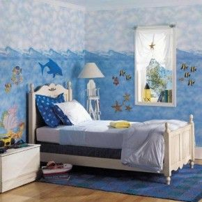 Sea Themed Bedroom Idea For Teens Mytickerz.com