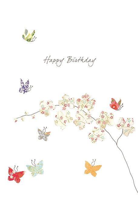 Butterflies and Orchids | Cards from Postmark Online