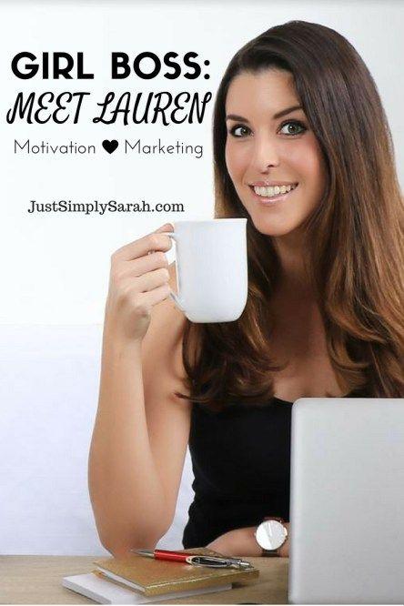 Girl Boss: Meet Lauren