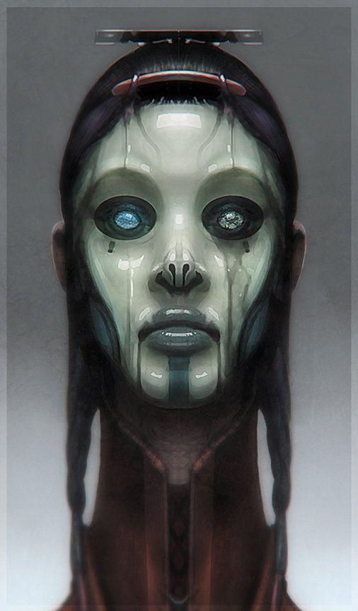 ArtStation - Robot Girl, Sebastian Meyer