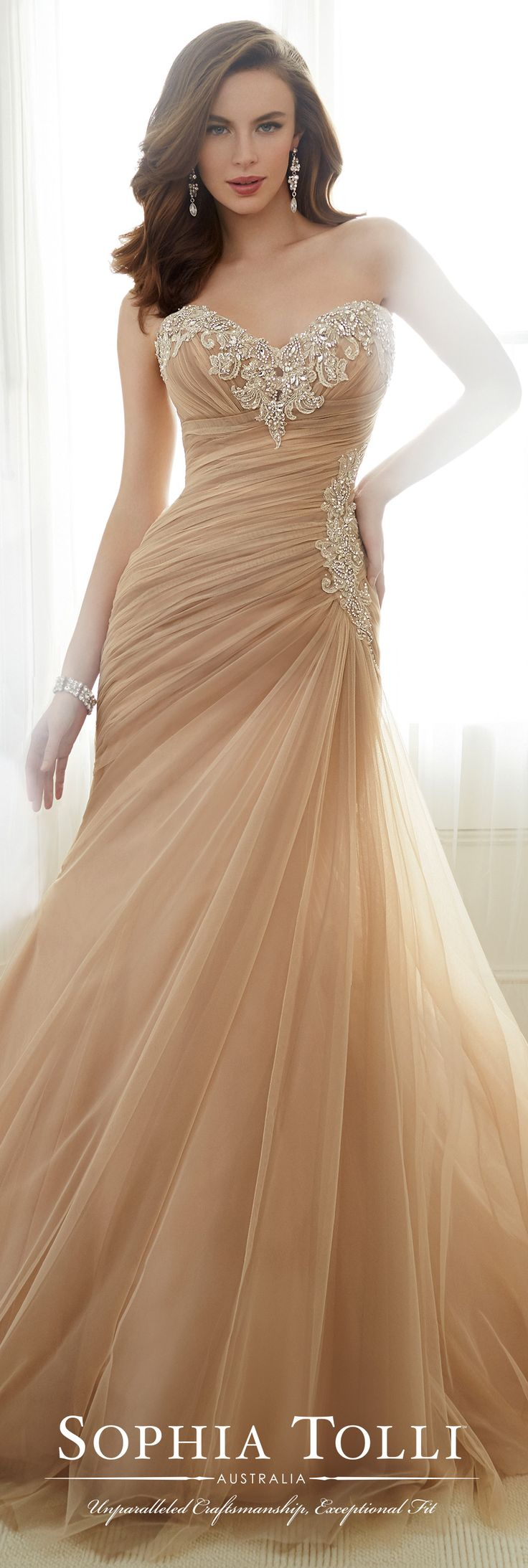 best ideas about sophia tolli wedding gowns sophia tolli spring 2017 wedding gown collection style no y11724 adeline asymmetrically draped