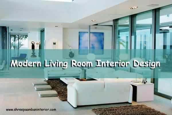 Design or decorate a living room that the whole family can enjoy with Rich Fabrics. #ModernLivingRoomInteriorDesign #ShreePaambanInter