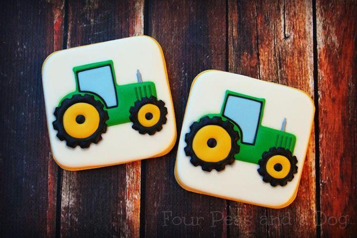 tractor cookies                                                                                                                                                     More