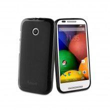 Forro Motorola Moto E Muvit Minigel - Negra $ 32.000,00