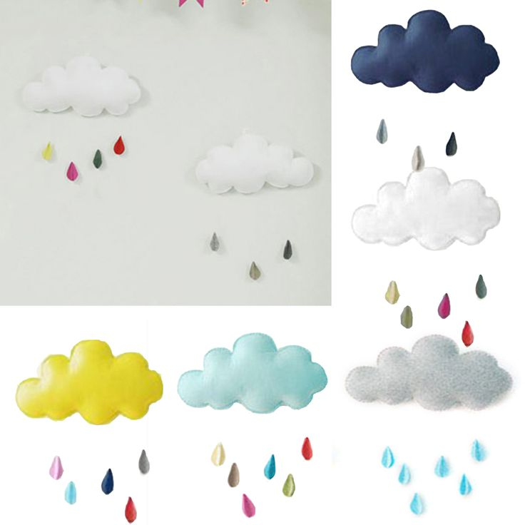 White home pendant cloud rain accessories Clouds Raindrop Style Fotografie Achtergronden  2016 fashion new-in Wind Chimes & Hanging Decorations from Home & Garden on Aliexpress.com | Alibaba Group