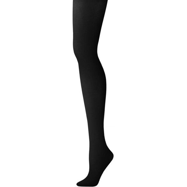 DKNY Women's Super Opaque Control Top Tights ($16) ❤ liked on Polyvore featuring intimates, hosiery, tights, black, tall tights, opaque stockings, dkny tights, tall stockings and dkny hosiery