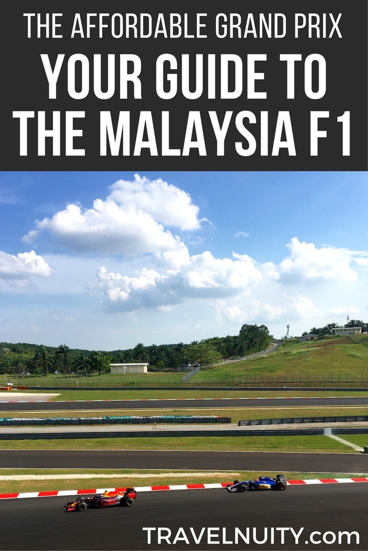 With the cheapest Formula 1 tickets and Malaysia in general being a cheap destination, the Malaysia Grand Prix is the affordable way to attend the Formula 1