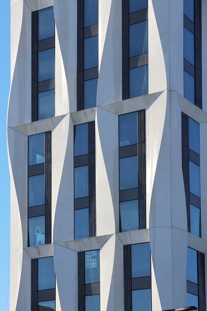 Campus North Residential Commons, Chicago Studio Gang Architects, 2016