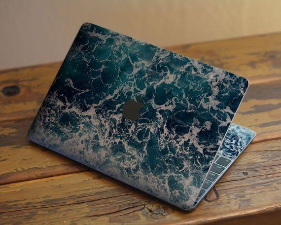 Ocean Macbook Skin Mac Air 13 Sticker Wave Vinyl Sticker Macbook Pro 15 Cover Apple Mac Decal Macboo