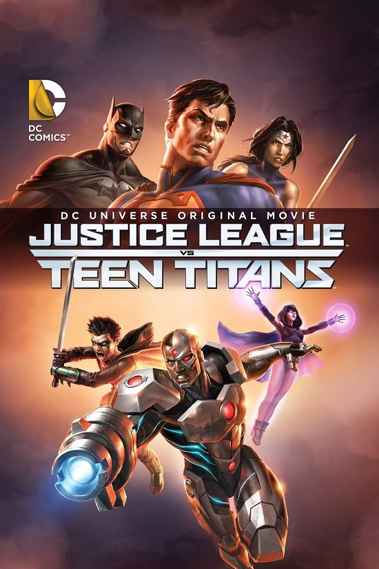 Descargar Justice League vs Teen Titans en Dvdrip en Avi con Audio Español Latino para bajar en MEGA, FILECLOUD, 1FICHIER y 4SHARED en 1 link