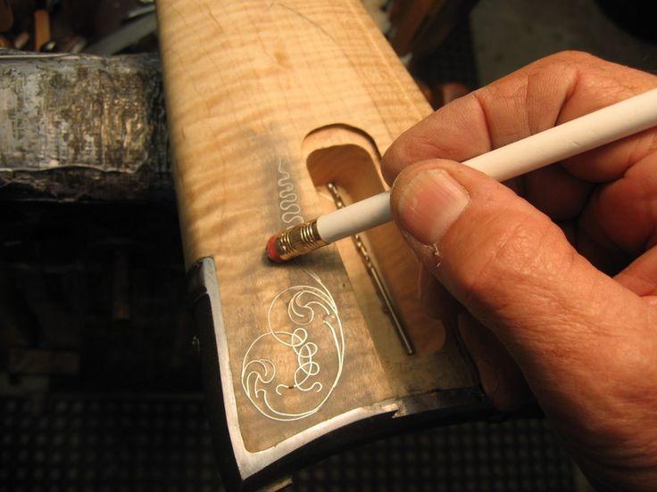 409 Best Carved Gunstocks Images On Pinterest Tree