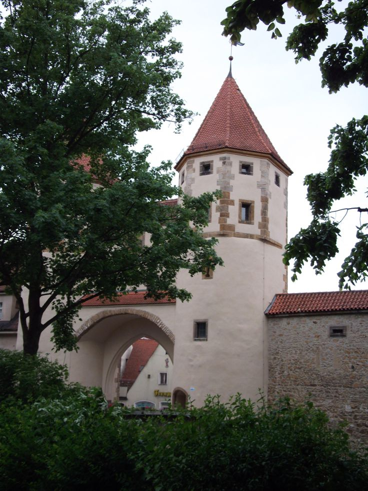 Nabburger Tor, Amberg, Bavaria  Germany. One of four gates leading into the old part of town.