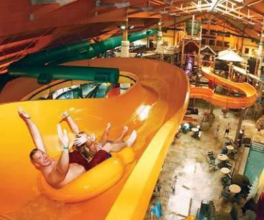 Great Wolf Resorts is the world's largest chain of indoor water parks which owns and operates its family resorts under the Great Wolf Lodge brand. Description from beldibihotels.com. I searched for this on bing.com/images