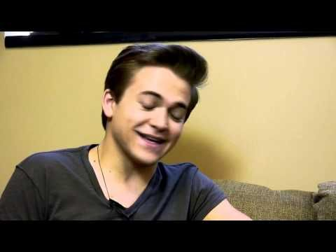 Gerry House pranks (then interviews) Hunter Hayes. This is so great! He is just too adorable!