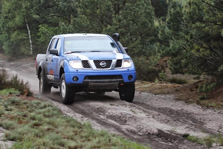 Robert Kufel, Dominik Samosiuk, Nissan Navara Blue, Świętoszów fot. Paweł Ciechanowski